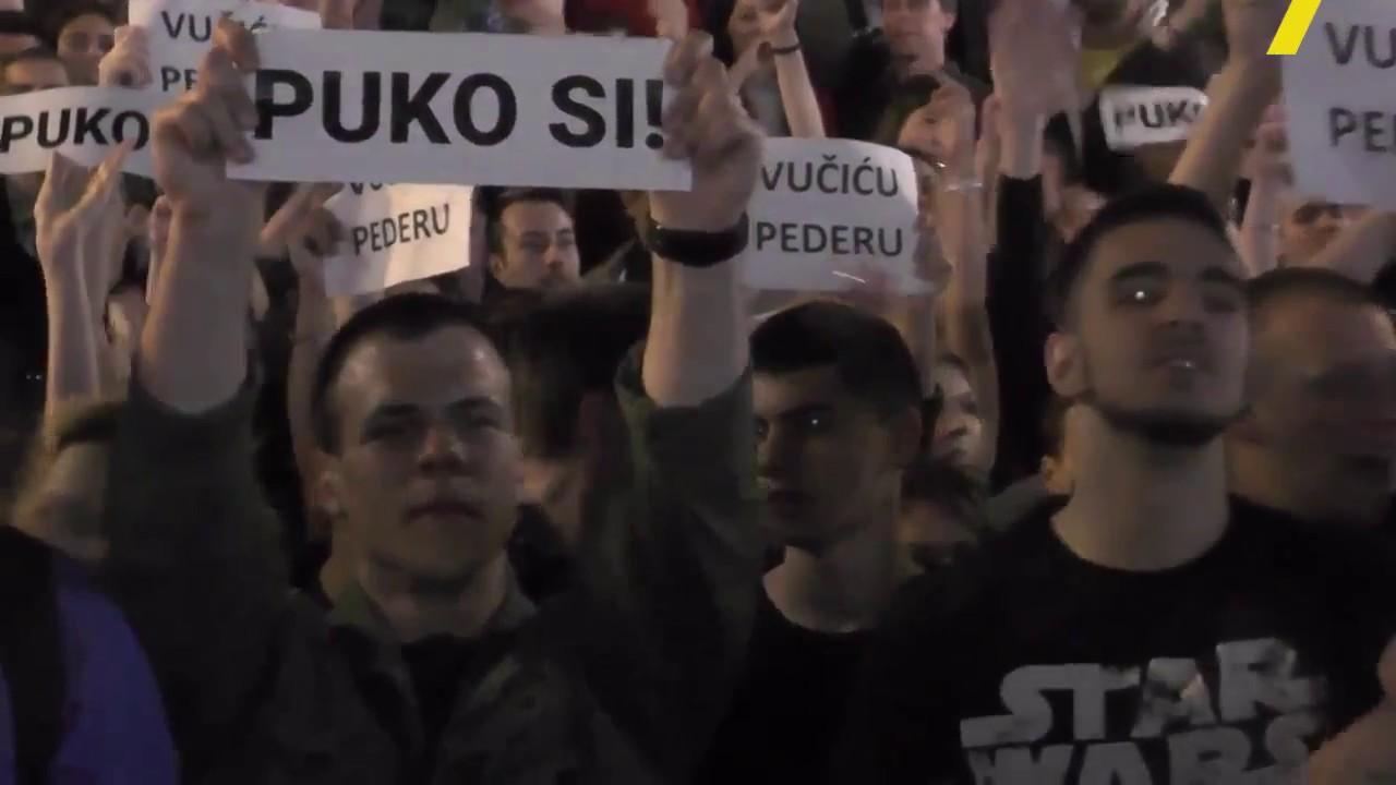 SRBIJA: ČAK 43 POLICAJCA SU POVRIJEĐENA U NEREDIMA, UHAPŠENE 23 OSOBE