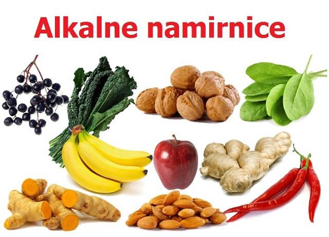 EVO popis zdravih i alkalnih namirnica koje sprječavaju na stotine bolesti